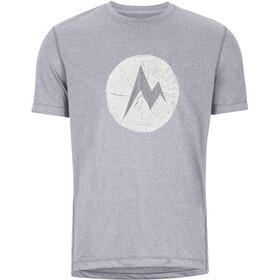 Marmot Transporter Koszulka z krótkim rękawem Mężczyźni, kelly green heather